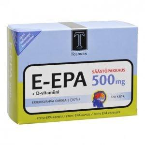 Tri Tolonen E-Epa 120kpl Kalaöljy