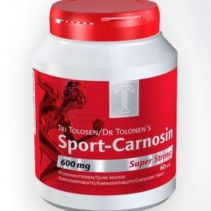 Tri Tolonen Tri Tolosen Sport Carnosin 600 Mg 60 Tablettia