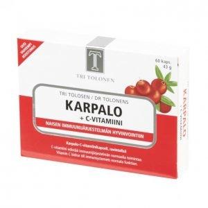 Tri Tolosen Karpalo + C-Vitamiini
