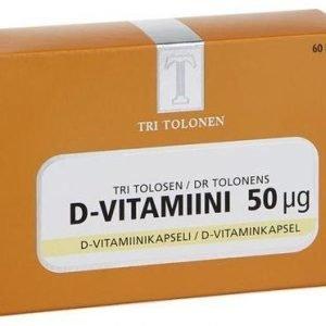 Tri Tolosen Vahva D-Vitamiini 50 Mikrog