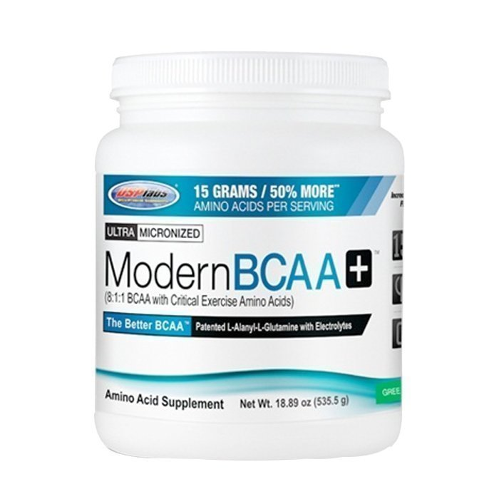 USP Labs Modern BCAA+ 535g Raspberry Lemonade