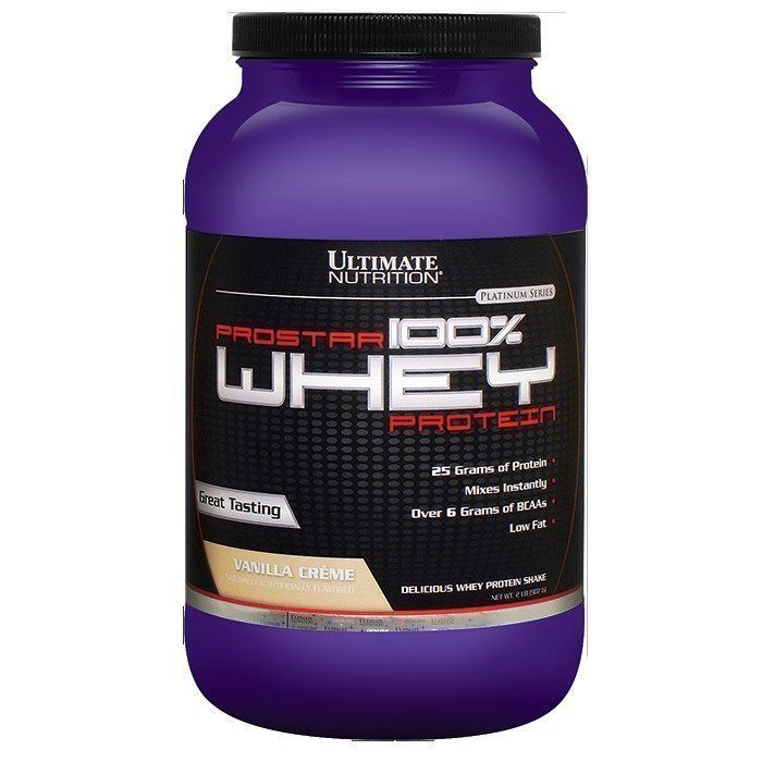 Ultimate Nutrition PROSTAR 100% WHEY 2300 g Cookies & Cream