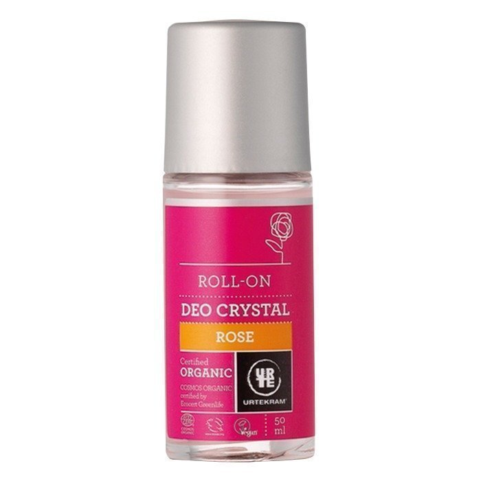 Urtekram Deodorantti Roll-on Crystal Rose 50 ml