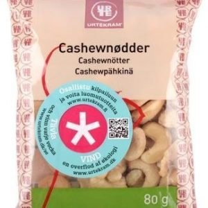 Urtekram Luomu Cashewpähkinä