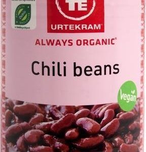 Urtekram Luomu Chili Beans Säilyke