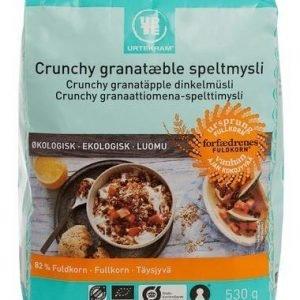 Urtekram Luomu Crunchy Granaattiomena-Spelttimysli