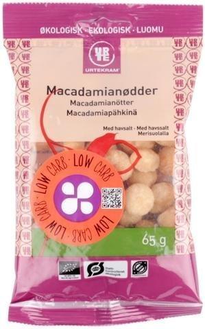 Urtekram Luomu Macadamiapähkinä