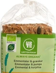 Urtekram Luomu Näkkileipä Emmental & Kurpitsa