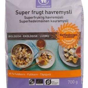 Urtekram Luomu Superhedelmäinen Kauramysli