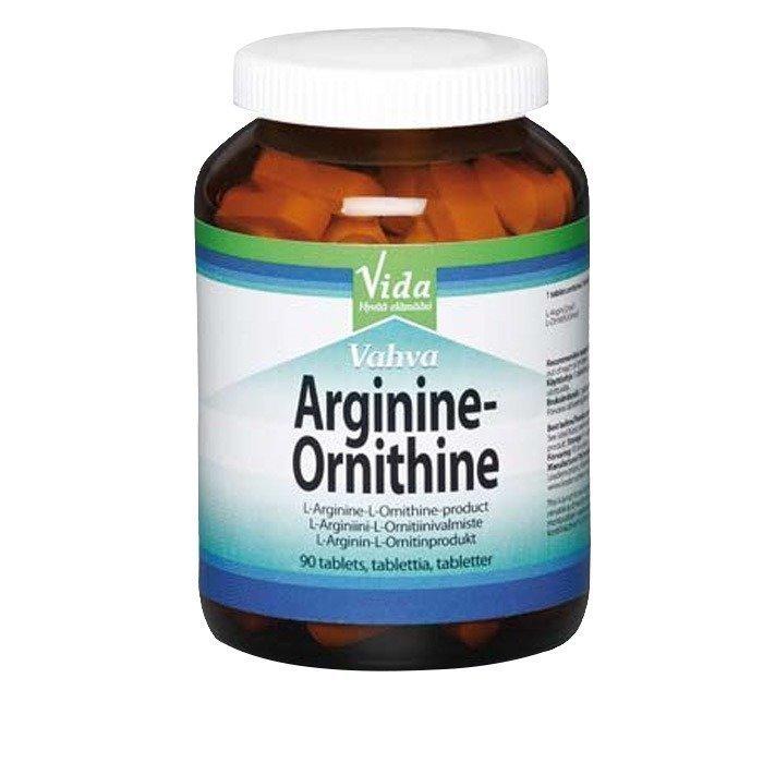 VIDA Vida Arginiini-Ornitiini 90 tablettia