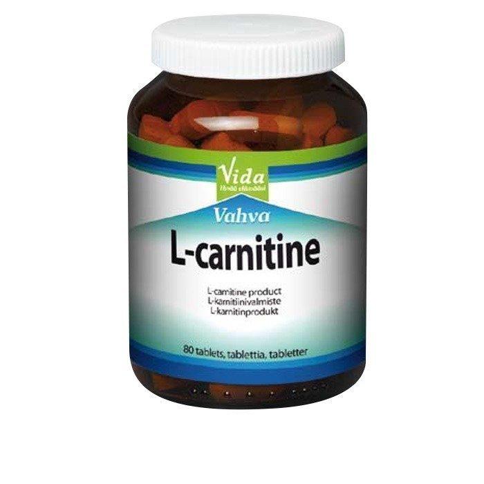 VIDA Vida L-Carnitine 80 tablettia
