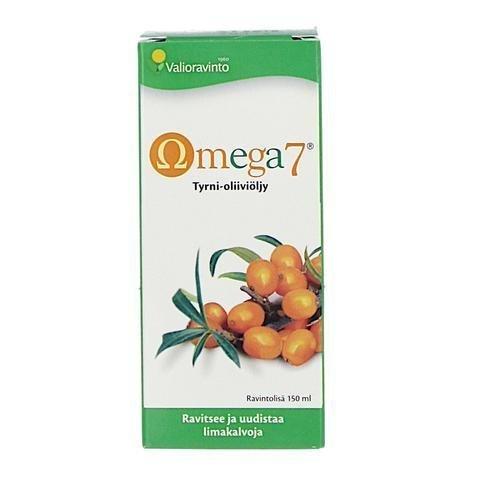 Valioravinto Omega7 Tyrniöljy-Oliiviöljy