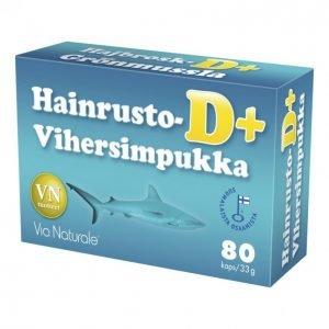 Via Naturale Hainrusto + Vihersimpukka D + 80 Kpl