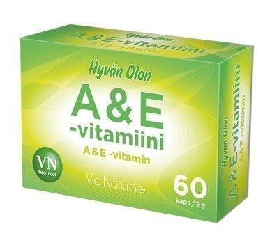 Via Naturale Hyvän Olon A & E-vitamiini
