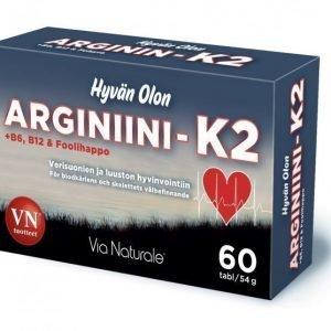Via Naturale Hyvän Olon Arginiini-K2