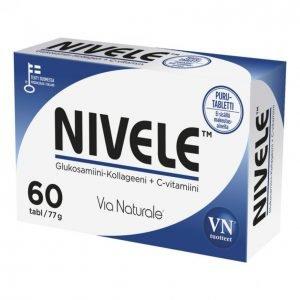 Via Naturale Nivele Glukosamin-Kollageeni 60kpl