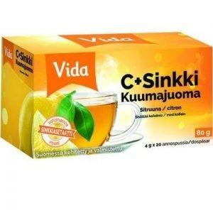 Vida C+Sinkki Kuumajuoma Sitruuna