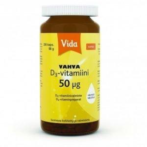 Vida Vahva D3-vitamiini 50ug