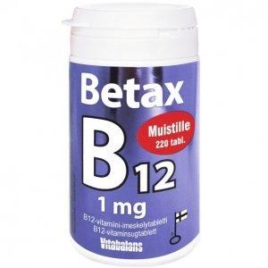 Vitabalans Betax B12 1 Mg 220 Tablettia