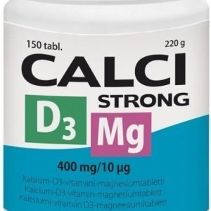 Vitabalans Calci Strong + Magnesium + D3-vitamiini