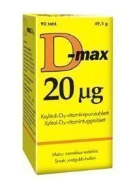 Vitabalans D-max 20ug