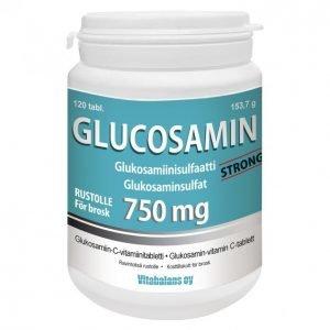 Vitabalans Glucosamin 750 Mg 120 Kpl Strong