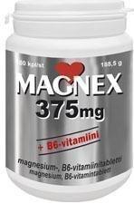 Vitabalans Magnex 375 mg + B6-vitamiini