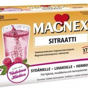 Vitabalans Magnex Sitraatti 375mg juomajauhe