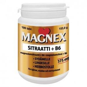Vitabalans Magnex Sitraatti + B6 100kpl