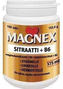 Vitabalans Magnex Sitraatti+B6-vitamiini