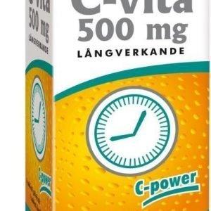Vitabalans Pitkävaikutteinen C-Vita 500mg