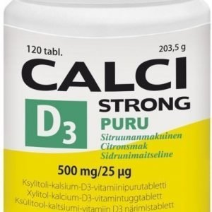 Vitabalans Puru Calci Strong + D3-vitamiini