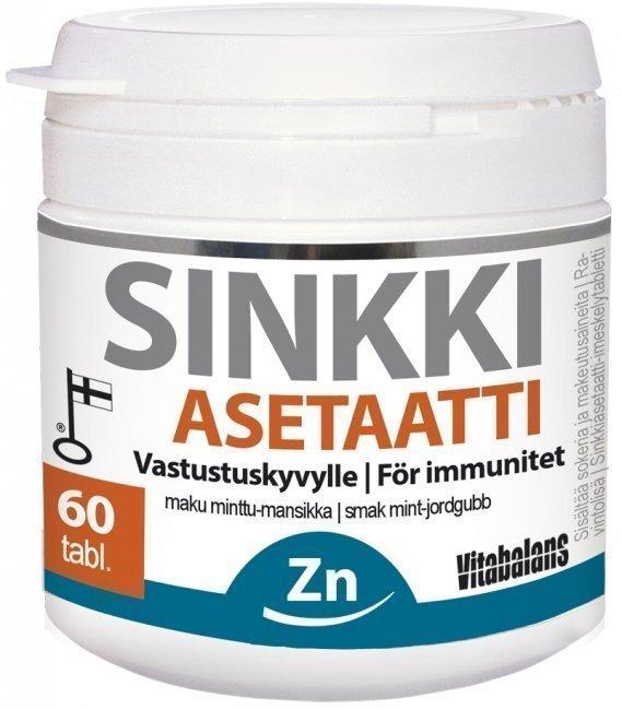 Vitabalans Sinkki Asetaatti