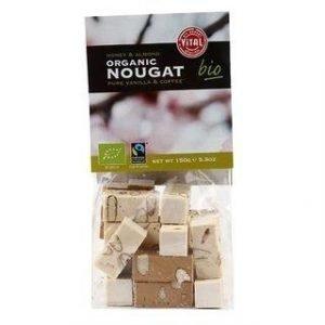 Vital Gluteeniton Luomu Nougat Vanilja-Cappuccino