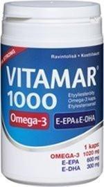 Vitamar 1000 Omega-3 Kalaöljykapselit
