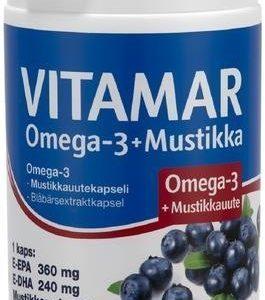 Vitamar Omega-3 + Mustikka
