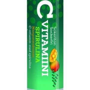 Vitaplex C-Vitamiini Spirulina-Mango 1000 Mg 20 Kpl / Pkt
