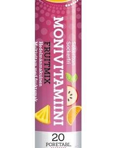 Vitaplex Fruit Mix Monivitamiinipore 20 Tablettia