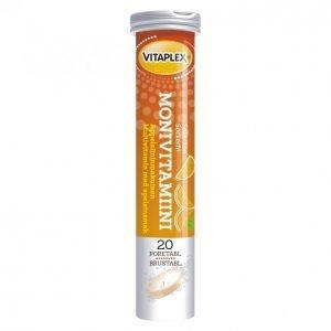 Vitaplex Monivitamiini 20kpl Poretabletti
