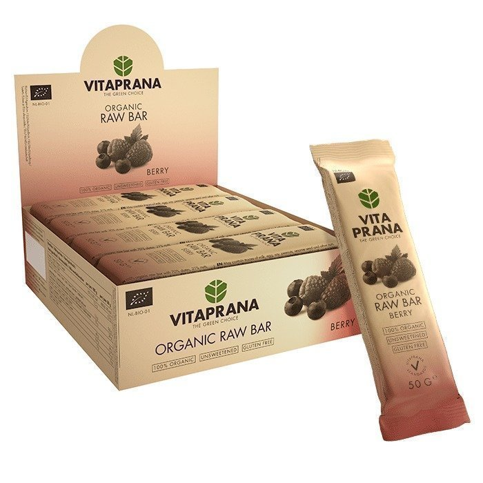Vitaprana 12 x Organic Raw Bar 50 g