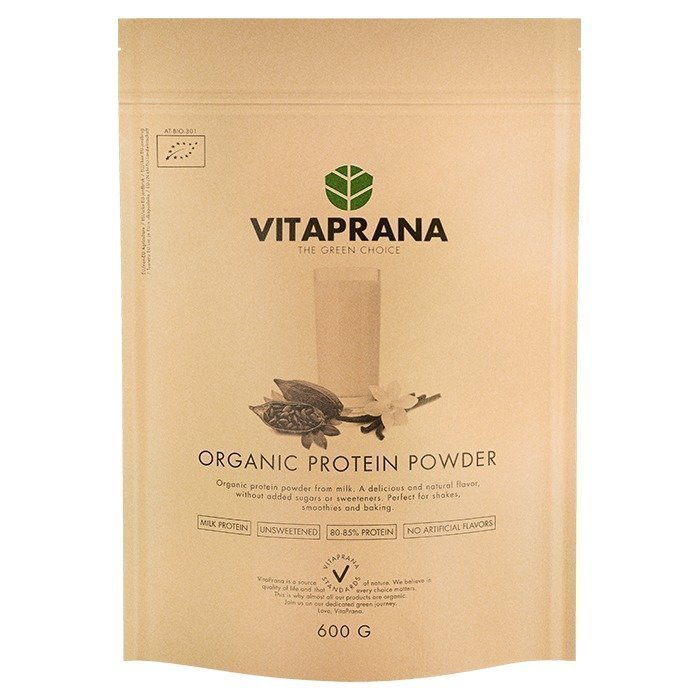 Vitaprana Organic Protein Powder 600 g Vanilla