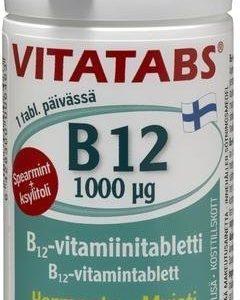 Vitatabs B12 Spearmint 1000 Mikrog
