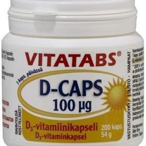 Vitatabs D-Caps 100 Mikrog
