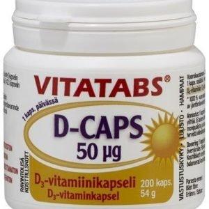 Vitatabs D-Caps 50 Mikrog