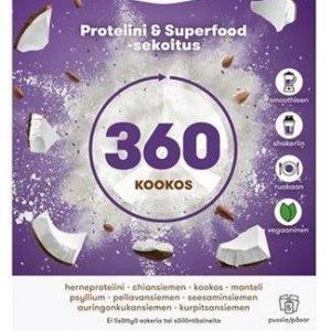 Voimaruoka 360 Wholefood Kookos
