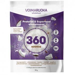 Voimaruoka 360 Wholefood Kookos 50 G