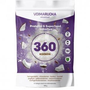 Voimaruoka 360 Wholefood Kookos 908 G