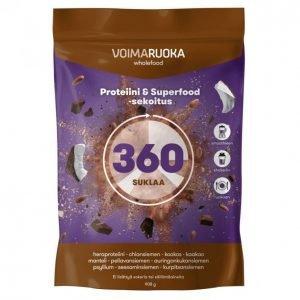 Voimaruoka 360 Wholefood Suklaa 908 G