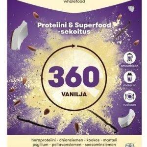 Voimaruoka 360 Wholefood Vanilja