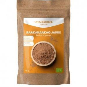 Voimaruoka Luomu Raakakaakaojauhe 150 G